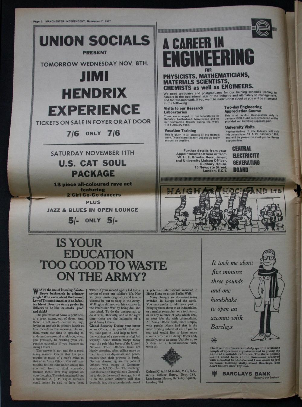 Manchester (The Union) : 8 novembre 1967 HiRes-1