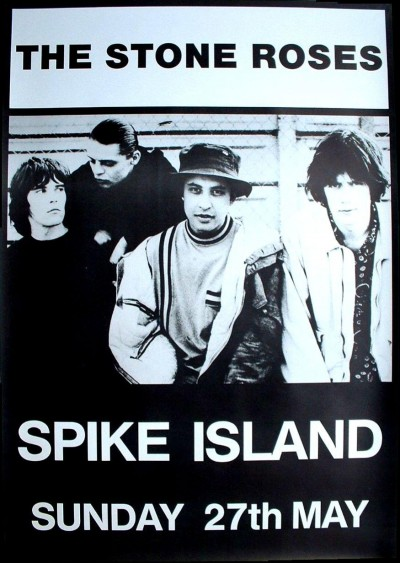 Stone Roses Spike Island Poster