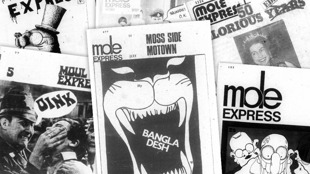 Mole Express online exhibition live