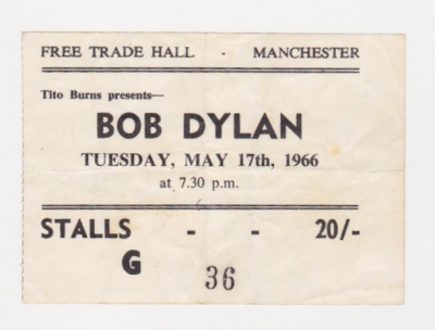 Bob Dylan at the Free Trade Hall - 50th anniversary concert