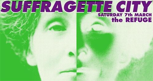 Suffragette City Set Times